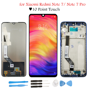 """Image 1 - 6.3"""" for Xiaomi Redmi Note 7 Pro LCD Display with Frame Touch Screen Digitizer Assembly LCD TouchScreen Repair Parts"""