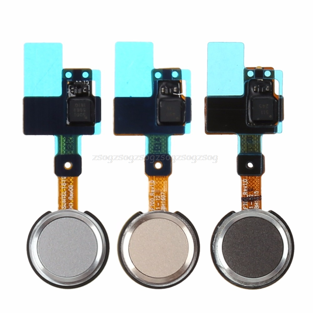 Gold Grey White Home Button Fingerprint Sensor Power Flex Cable Ribbon For LG G5 H820 H830 H840 H848 H850 Au13 19 Droship