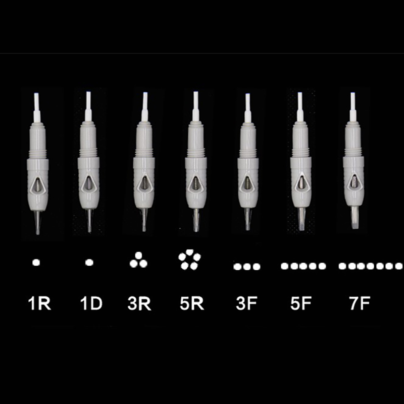 200pcs Microblading Cartridge Needle For Charmant Device Permanent Makeup Machine Pen 2019 Charme Princesse Tattoo Machine