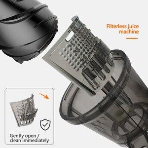 MIUI медленная соковыжималка для холодного пресса, 7 уровней, медленная мастикация, соковыжималка, мини-FilterFree, запатентованный дизайн, прокладка 2020 PLUS, модель