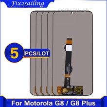 5 جزء/الوحدة الأصلي لموتورولا G8 زائد XT2019 XT2019 2 LCD عرض تعمل باللمس محول الأرقام الجمعية ل موتو G8Plus Lcd شاشة