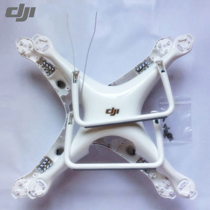 Genuine DJI Phantom 4 Pro V2 0 Part - Body Shell Upper Bottom Cover Landing Gear with Compass for DJI Drone Replacement Parts