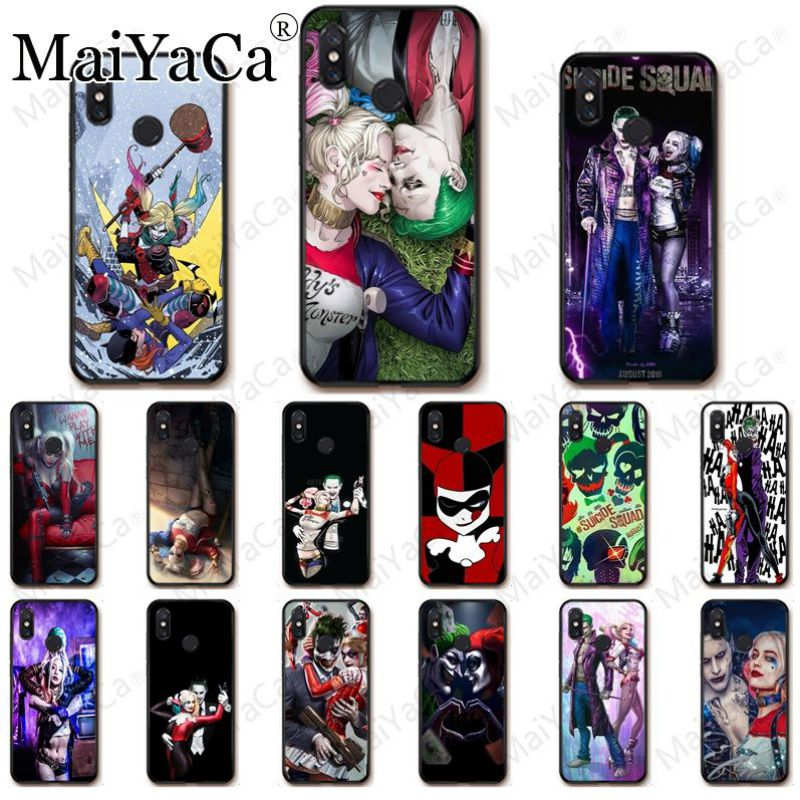 Suicide Squad Joker Harley Quinn Phone Accessories Case For redmi 5A 7 7a 8 note5 note7 note8pro note6pro Mobile Cover