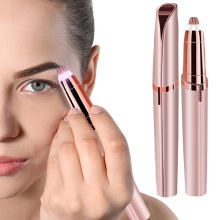 Mini Electric Hair Removal Eyebrow Trimmer Epilator Lipstick Brows Pen Hair Remo