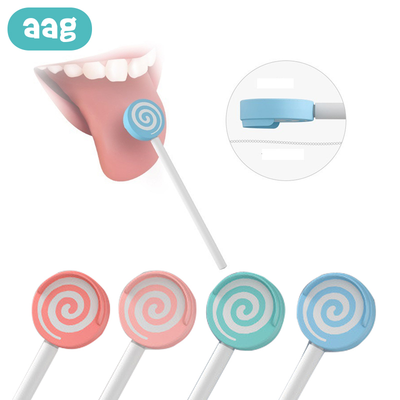 AAG Baby Toothbrush Baby Mouth Fresher Tool Massage Tongue Cleaner Scraper Infant Dental Oral Care Baby Toothbrush Accessories