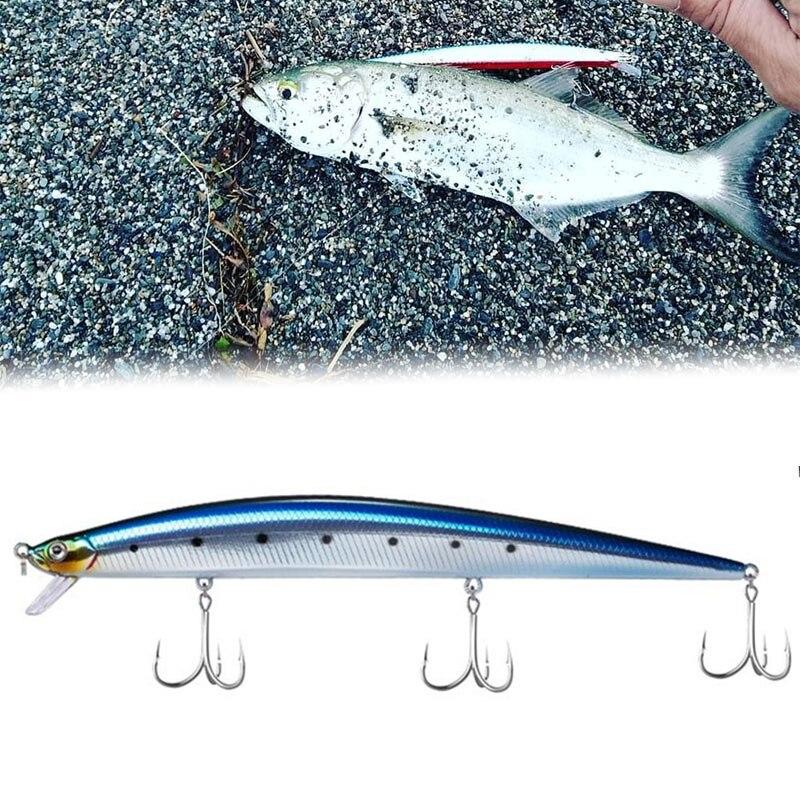 Hunt house tide minnow slim 175 мм/31 г, белая длинная блесна, приманка для рыбалки, синяя приманка для рыбалки, приманка для длинного литья басов