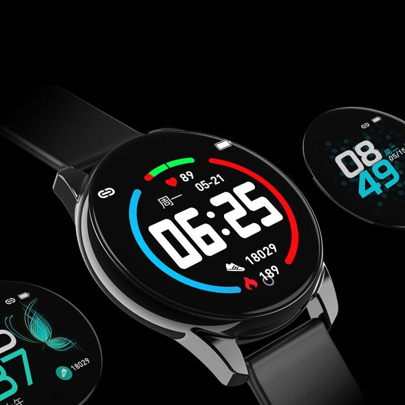 M4 Фитнес одним нажатием кнопки Band 24 частоты сердечных сокращений крови Давление Sleep Monitor Бизнес Стиль Смарт-часы Для мужчин Для женщин