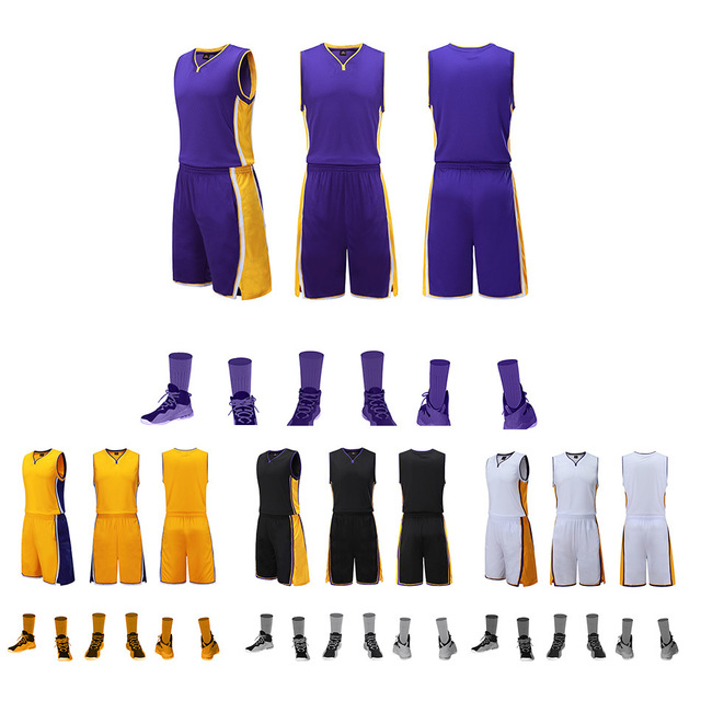 2019 new basketball uniform suit Men and Women basketball clothing can be customized