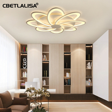 Led ceiling chandelier for living room bedroom kitchen Surface mount crystal chandelier ceiling lamp, 50%