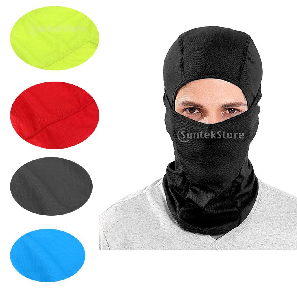 Дышащая Балаклава, лыжная маска для лица, ветрозащитная, мужская, женская, теплая, с капюшоном, зима, осень, маски, синий, желтый, зеленый, черн...