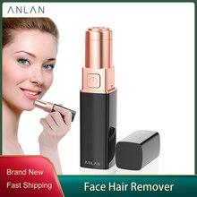Female Mini Electric Epilator, Body Face Lipstick Shape Shaving Shaver Lady Hair Remover Painless epilator Lady Hair Remover