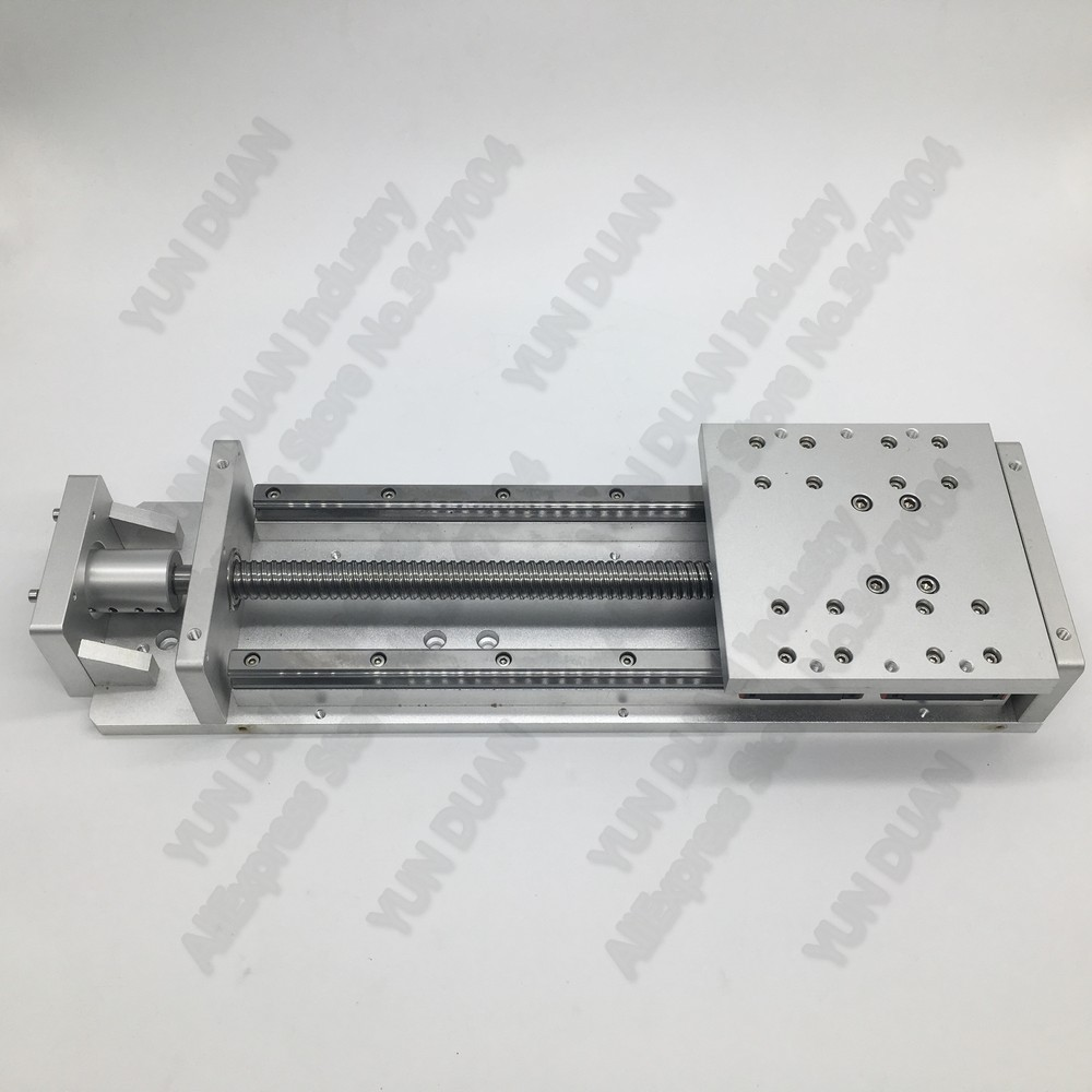 300mm Stroke 400kg Heavy Load SFU2010 1605 Ballscrew Sliding Table Slide Linear Module Guide Platform Robotic Arm Router CNC