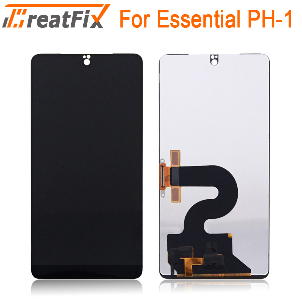 100% Tested Original 5.71 inch For Essential Phone PH-1 LCD Display+Touch Screen Digitizer Assembly Replacement for ph1(China)