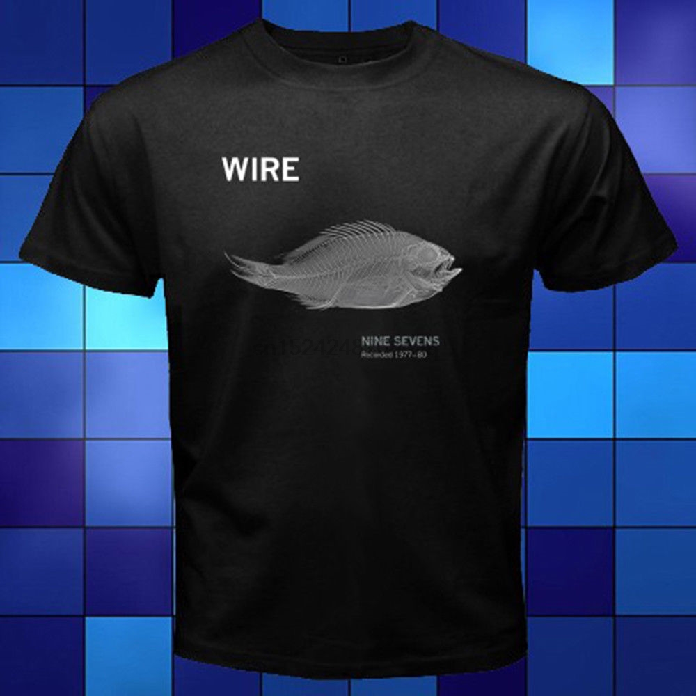 New Wire Band Nine Sevens Album Cover Black T-Shirt Size S to 3XL