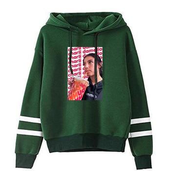 charli damelio merch Sweatshirt Men/Women Print Ice Coffee Splatter Hoodies Fashion Hip Hop hoodie Pullovers Tracksuit Clothes 9