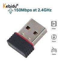 Adapter Internet Wifi Wireless Network Kebidu for PC Laptop Computer Usb-2.0 150M Lan-Card