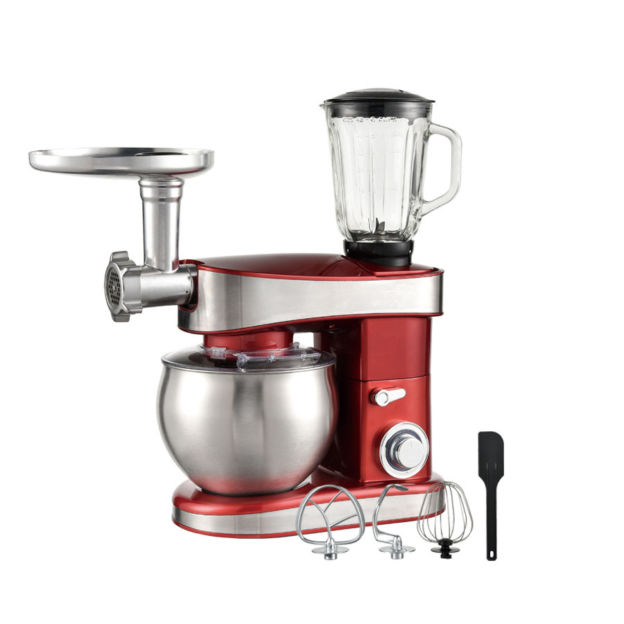 Home Use Kitchen Multi-function Electric Automatic Spiral Stand Mixer With 6.5L Bowl Mixer Grinder Blender Soybean Milk Blender