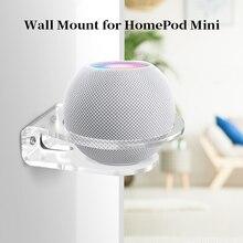 Wall Shelf Holder For HomePod Mini Echo Dot 4th 3rd Gen Smart speaker Sturdy Acrylic Wall Mount Space Saving Solution Bracket