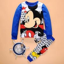Children Boys Girls Clothing Set Pajamas Kids Mickey Nightwe