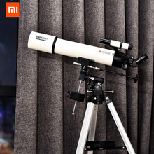 Xiaomi BEEBEST Astronomical Telescope XA90 Professional Outdoor HD Refractive Zoom Telescope Finderscope Monocular For Space