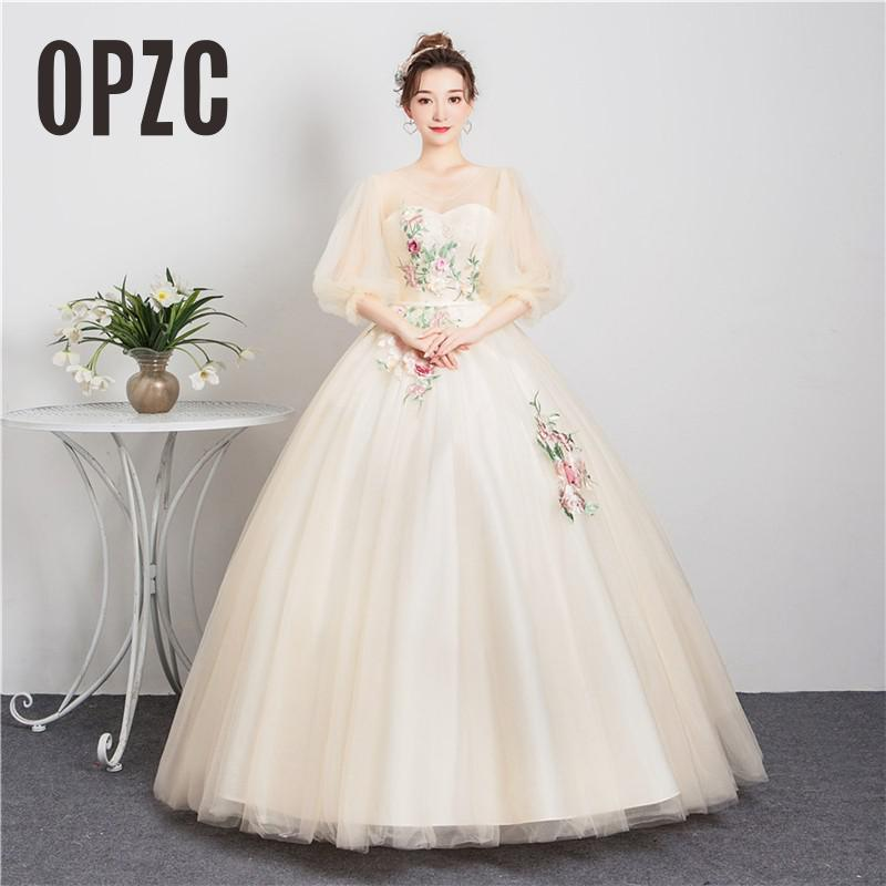 Robe De Soiree Sweetheart Quinceanera Dress Graduation Dress Beading Applique Flower Ball Gown Prom Party Solo Performance