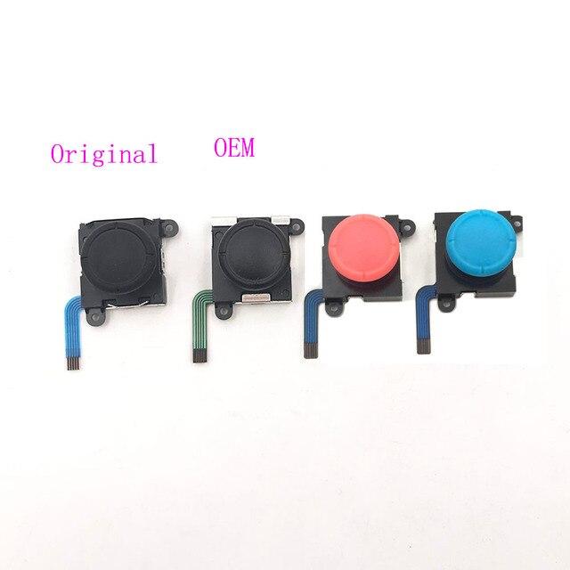 Palanca de mando Original y OEM para elegir, Con Sensor 3D analógico, Joystick para Switch NS Joy Con y Swith Lite Controller