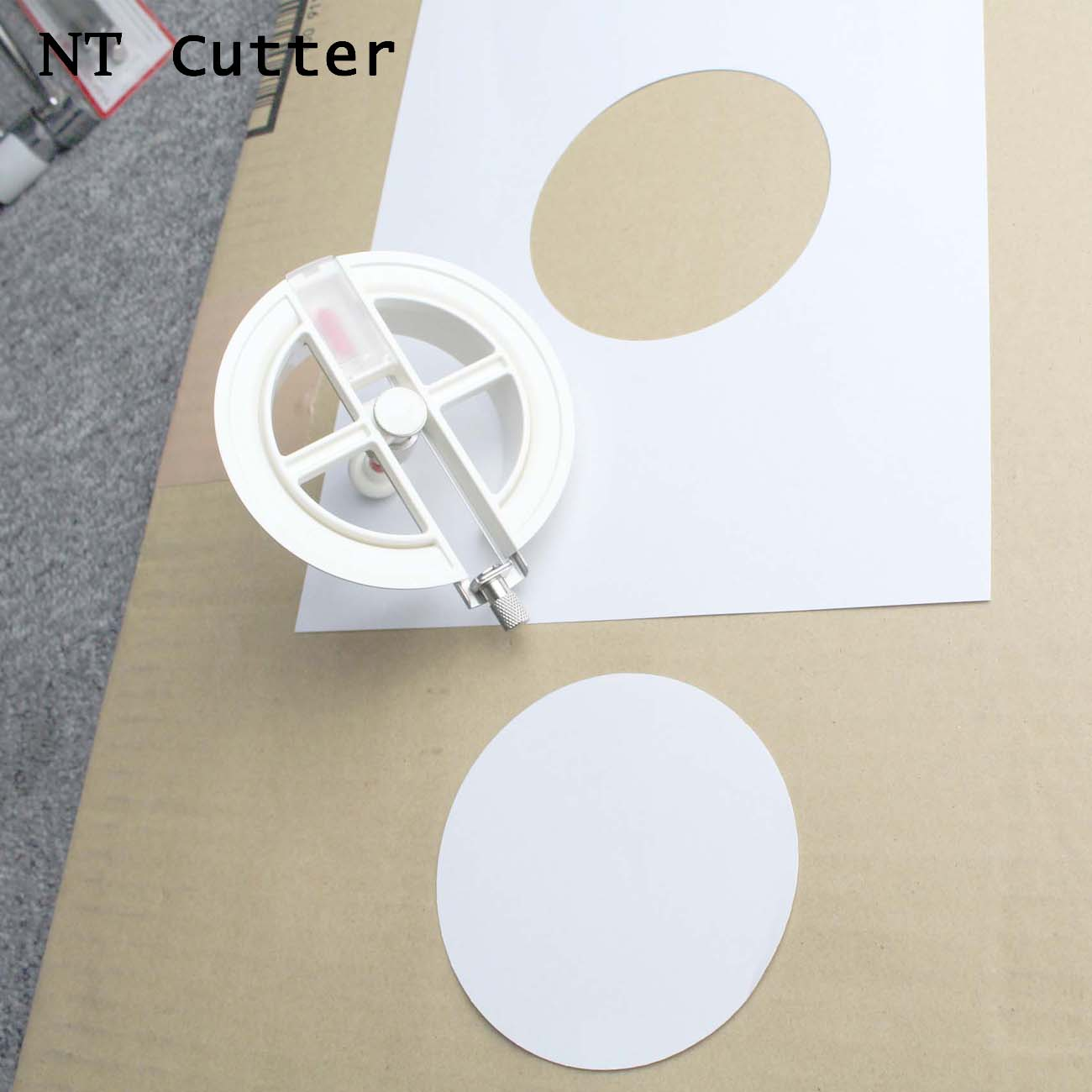 1PC Japan NT Cutter IC-1500P Circle Compass Cutter For Paper Cutting Craft New High Quality Knife Utility Knife