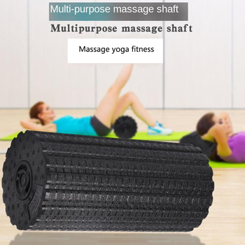 Yoga Column Solid Motion Electric Vibrator Body Massager Muscle Relax Fitness Massage Tool Vibrating Relief Stress Stick