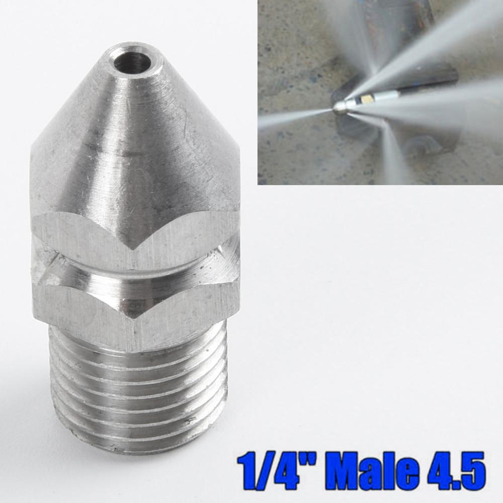 "1//4/'/'M 3//8/""M Jetter Rotary Nozzle Pressure Washer Drain Sewer Cleaning Pipe"