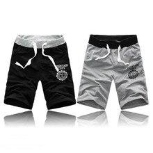 Модные мужские короткие штаны, лето-осень, спортивные тренировочные летние шорты для бодибилдинга, для тренировок, повседневные мужские шо...