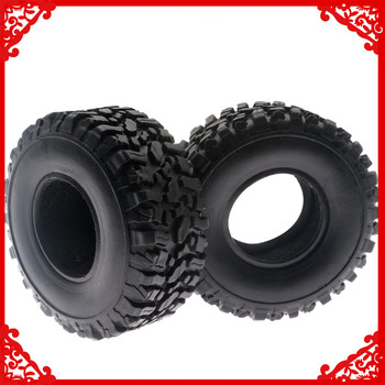 A pair soft rubber tire with foam sponge for WPL Henglong B14 B24 B16 B36 Ural C14 C24 Q60 Q61 Q62 Q63 Q64 4x4 6x6 Military
