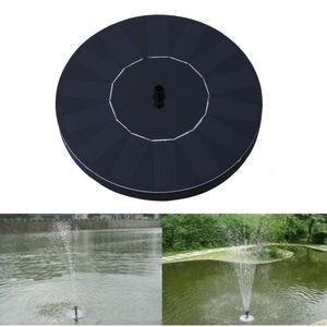 Солнечная энергия фонтан сад разбрызгиватель воды солнечный фонтан плавающий водяной насос полив систерм украшение сада