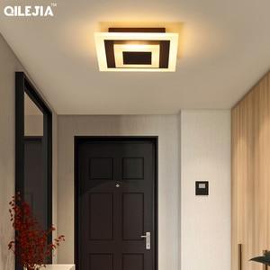 Image 2 - חדש אקריליק כיכר/עגול מנורת נברשות סלון חדר שינה בית AC85 265V מודרני Led נברשת מנורת גופי