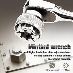 Image 1 - Multi Funktion Schlüssel Adaptive Alle Anliegende Multi Bohrer Befestigung Buchse Chrom Molybdän Stahl Schlüssel Hand Werkzeuge