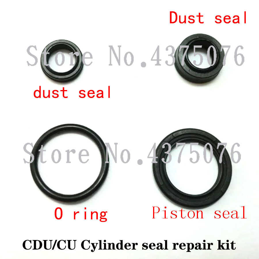 Bore = 10/12/16/20/25/32 mm air pneumatic cylinder seal repair kits Fit CU <font><b>CDU</b></font> Cylinder Europe Type image