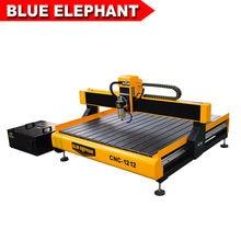 Routeur cnc de bureau ou de table éléphant bleu, format ELE1212 4x4 1200x1200