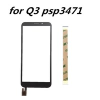 New 5.0inch touch screen For Prestigio Wize Q3 PSP3471 DUO Touch Screen Glass sensor panel lens glass replacement