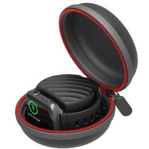 Image 4 - 여행 휴대용 충전기 충전 홀더 도크 스토리지 박스 애플 시계 시리즈 5/4/3/2/1 방진 지퍼 케이스 Airpods 1 2