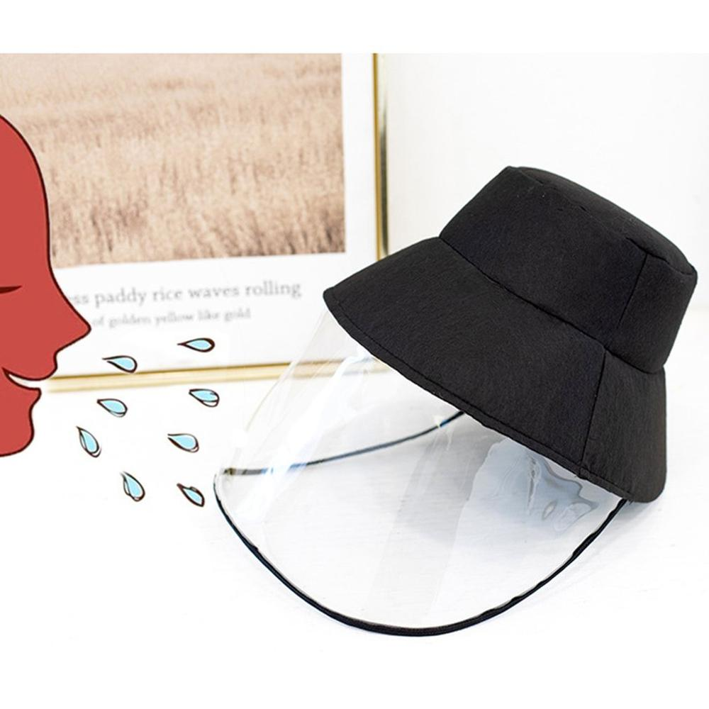 Protective Mask Hat Breathable Transparent Dustproof Waterproof Men Women Face Cover Summer Outdoor &Travel Face Hood