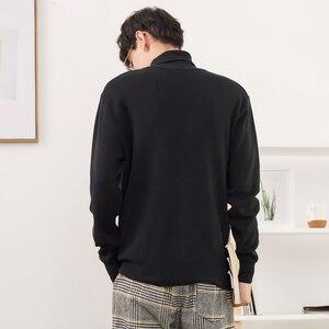 Image 3 - Metersbonweใหม่ยี่ห้อเสื้อกันหนาวผู้ชายฤดูหนาวแฟชั่นแขนยาวถักชายผ้าฝ้ายเสื้อกันหนาวเสื้อผ้าคุณภาพสูง