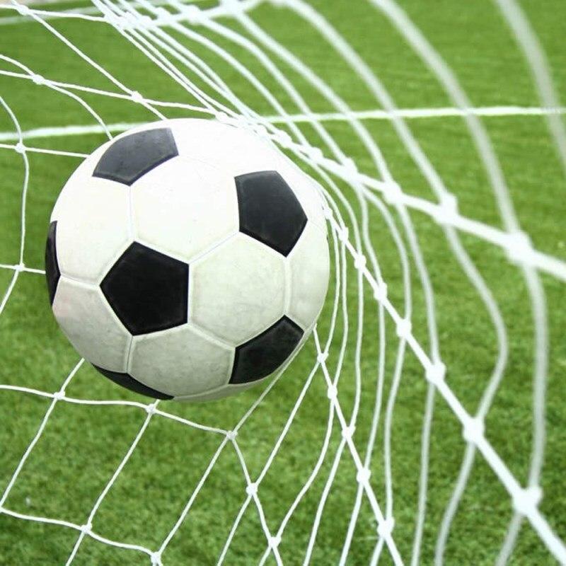 Rede de futebol de algodão, rede de