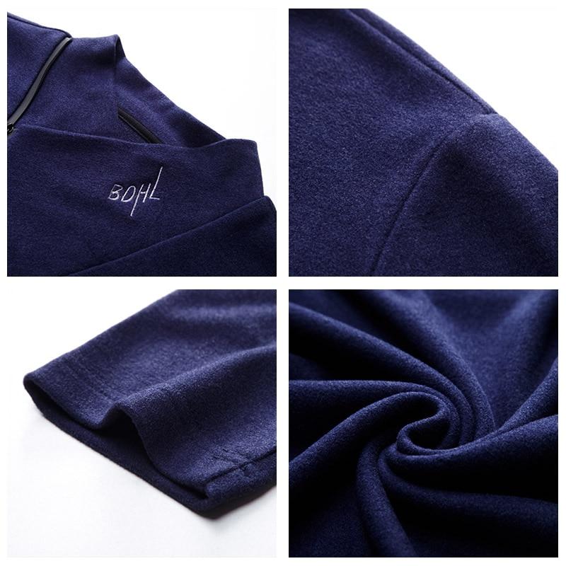 UCAK Brand Thin Sweaters Men O-Neck Zipper Decorating Casual 2020 NEW Fashion Style Streetwear Spring Autumn Men Sweater U1056