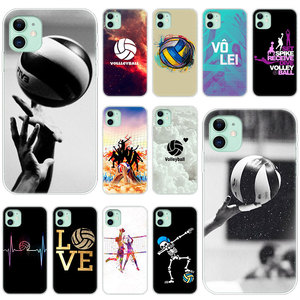 Hot Volleyball Sprot Soft Silicone Transparent Case for Apple iPhone 11 Pro XS Max X XR 6 6s 7 8 Plus 5 5s SE Fashion Cover(China)