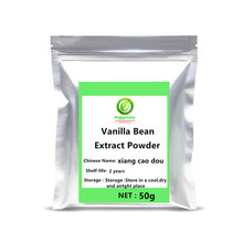 цена на High quality Madagascar Vanilla Bean Extract Powder festival top Nutrition adjustable Milkshake Vanilla Planifolia free shipping