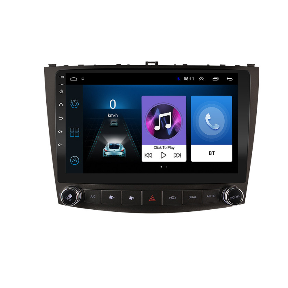 10.1 inch <font><b>Android</b></font> 8.1 2 Din Car Multimedia Stereo Player for <font><b>Lexus</b></font> IS250 IS200 IS220 IS300 2006- <font><b>2012</b></font> Navigation GPS Radio image
