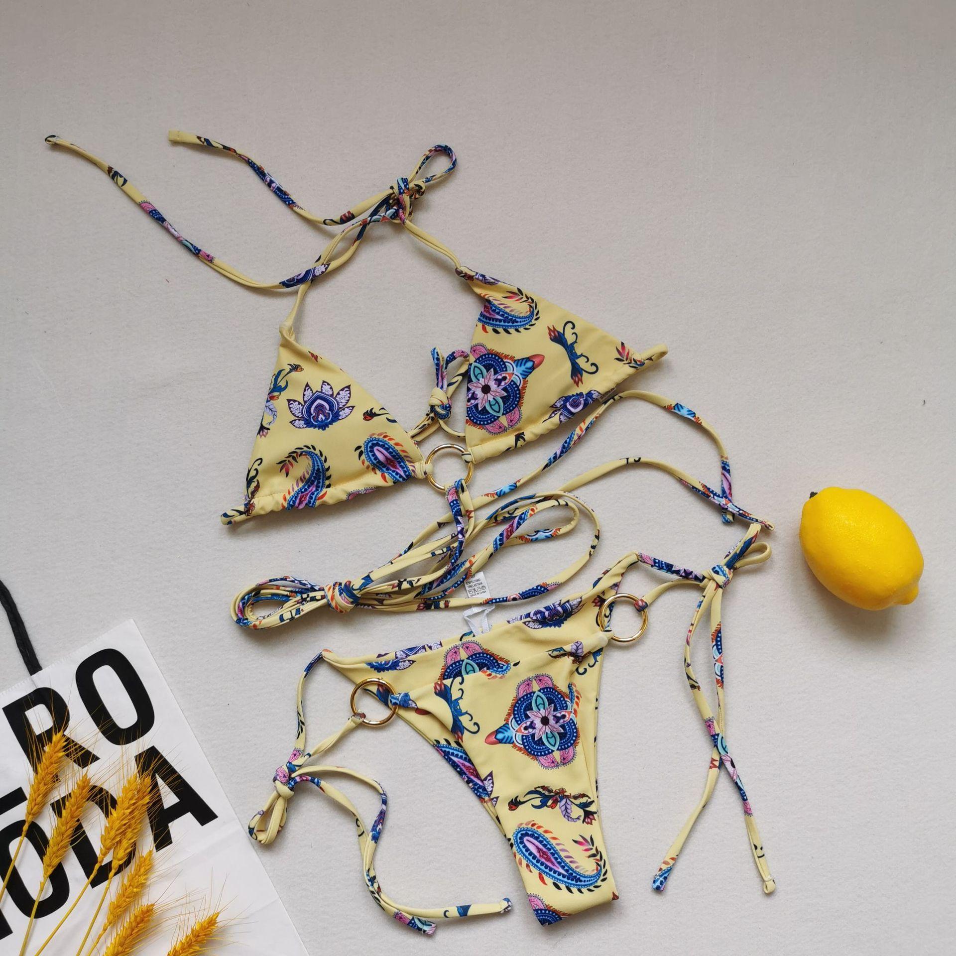 Sexy Brazilian Push Up Bikini Swimwear Women Micro Swimsuit  B4614 4
