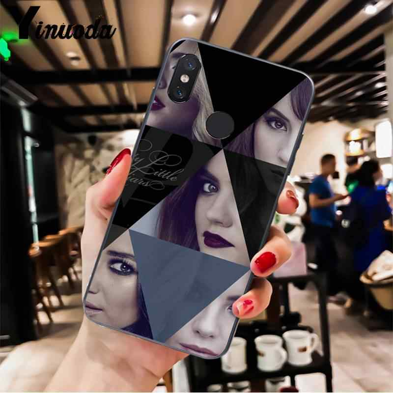 Yinuoda Pembohong Sedikit Cantik PLL TV Acara Coque Shell Ponsel Case untuk Xiao Mi Mi Mi X2s MAX2 3 A1 5 Catatan 2 3 Redmi S2 5A Ponsel