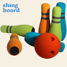 Shingboard Kids Bowling Sports Toys Indoor Parent-Child Interactive Games Boys Girls Outdoor Sports Game Gifts for Children