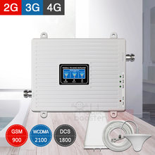 4G Signal Booster cellular amplifier 2G 3G 4G mobile signal amplifier cellular signal booster 4G LTE gsm 900 1800 2100