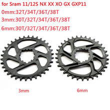 Mtb gxp bicicleta chainring estreito grande mountain bike chainwheel30t32t 34t 36t 38t para sram gxp x01 x9 xo x01 gx águia nx cárter